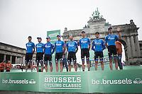 pre-race Team Gazprom-RusVelo presentation<br /> <br /> Brussels Cycling Classic 2016