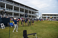 Austin Cook (USA) chips on to 18 during round 4 of the 2019 Houston Open, Golf Club of Houston, Houston, Texas, USA. 10/13/2019.<br /> Picture Ken Murray / Golffile.ie<br /> <br /> All photo usage must carry mandatory copyright credit (© Golffile | Ken Murray)