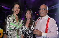 Melissa Dusenberry, Stefanie Revennaugh and Bill Colaianni attend The Friends of Finn by the Shore party at Finale East on Aug. 2, 2014 (Photo by Taylor Donohue/Guest of a Guest)