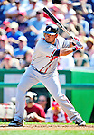 25 September 2010: Atlanta Braves outfielder Melky Cabrera in action against the Washington Nationals at Nationals Park in Washington, DC. The Braves shut out the Nationals 5-0 to even their 3-game series at one win apiece. The Braves' victory was the 2500th career win for skipper Bobby Cox. Cox will retire at the end of the 2010 season, crowning a 29-year managerial career. Mandatory Credit: Ed Wolfstein Photo