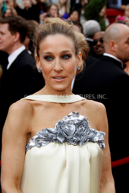 WWW.ACEPIXS.COM . . . . .  ....March 7 2010, Hollywood, CA....Sarah Jessica Parker at the 82nd Annual Academy Awards held at Kodak Theatre on March 7, 2010 in Hollywood, California.....Please byline: Z10-ACE PICTURES... . . . .  ....Ace Pictures, Inc:  ..Tel: (212) 243-8787..e-mail: info@acepixs.com..web: http://www.acepixs.com