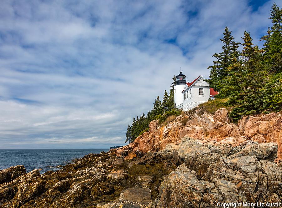 Acadia National Park, ME:  Bass Harbor Head Lighthouse (1858) - Mount Desert Island