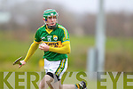 David Butler Kerry in action against  Kildare in the National Hurling League at Abbeydorney on Sunday.