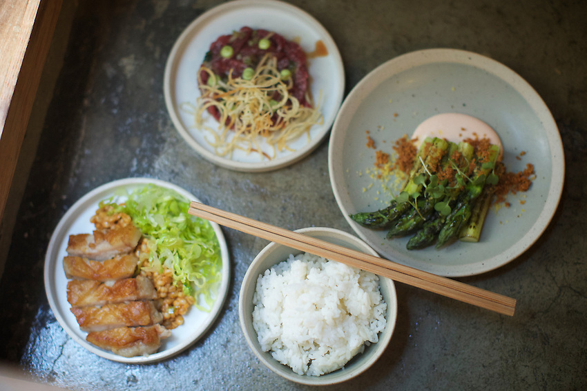 New York, NY - July 27, 2016: Atoboy, the new Modern Korean restaurant opening in the NoMad neighborhood by chef Junghyun Park.<br /> <br /> CREDIT: Clay Williams for Gothamist.<br /> <br /> &copy; Clay Williams / claywilliamsphoto.com
