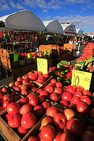 Montreal (QC) CANADA, October 11 2008 -..Jean-Talon food market in Montreal Little italy....