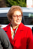 Former U.S. Ambassador to Ukraine Marie Yovanovitch arrives to testify before the U.S. House Permanent Select Committee on Intelligence as they investigate the impeachment of US President Donald J. Trump on Capitol Hill in Washington D.C., U.S., on Friday, November 15, 2019. <br /> <br /> Credit: Stefani Reynolds / CNP/AdMedia