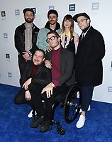 10 March 2018 - Los Angeles, California - Portugal. The Man. The Human Rights Campaign 2018 Los Angeles Dinner held at JW Marriott LA Live.  <br /> CAP/ADM/BT<br /> &copy;BT/ADM/Capital Pictures