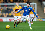 Motherwell v St Johnstone&hellip;20.10.18&hellip;   Fir Park    SPFL<br />Drey Wright and Allan Campbell<br />Picture by Graeme Hart. <br />Copyright Perthshire Picture Agency<br />Tel: 01738 623350  Mobile: 07990 594431