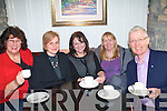 The Open coffee morning business network meets once a month in Killarney to bring business people from all over Kerry together. .L-R Fiona Hayes, Magdalena Serafin, Maria Stack, Lotte Lyne and  Pa?draig O Su?illeabha?n.