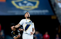 CARSON, CA - SEPTEMBER 29: Sebastian Lletget #17 of the Los Angeles Galaxy during a game between Vancouver Whitecaps and Los Angeles Galaxy at Dignity Health Sports Park on September 29, 2019 in Carson, California.