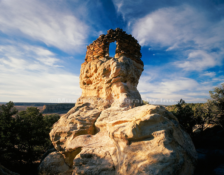 """Anasazi ruin, Largo Canyon   NEW MEXICO"""