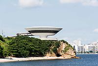 NITERÓI, RJ, 04.03.2018 - TURISMO-RJ - Vista do Museu de Arte Contemporânea (MAC) em Niterói região metropolitana do Rio de Janeiro neste domingo, 04. (Foto: Clever Felix/Brazil Photo Press)