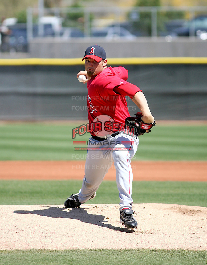 Sean O'Sullivan / Los Angeles Angels..Spring Training 2008..Photo by:  Bill Mitchell/Four Seam Images