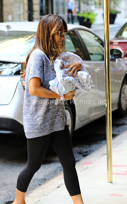 www.acepixs.com<br /> <br /> September 14 2016, New York City<br /> <br /> Alec Baldwin and his wife Hilaria bring their new baby son Leonardo Angel Charles home to their East Village apartment on September 14 2016<br /> <br /> By Line: Zelig Shaul/ACE Pictures<br /> <br /> <br /> ACE Pictures Inc<br /> Tel: 6467670430<br /> Email: info@acepixs.com<br /> www.acepixs.com