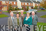 Residents from Kings Park estate in Killarney who are delighted that Killarney Town Council has taken over the running of the estate l-r: Sean O'Grady, Nuala Casey, John and Margaret O'Sullivan and Neil Casey............