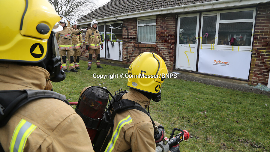BNPS.co.uk (01202 558833)Pic: CorinMesser/BNPS***Please Use Full Byline***A whopping £90,000 in cash was discovered under a bed in a derelict house just before firefighters were set to torch the property.Fire crews had been carrying out a sweep of the abandoned bungalow ahead of a training exercise in which they set fire to items of furniture then extinguish them.But they were left open-mouthed when they found bundles of cash totalling £90,000 stashed under the bed in one of the houses on the former site of an elderly care complex in Christchurch, Dorset.The bounty was handed over to police - and an investigation is now underway to establish who the cash haul belonged to.