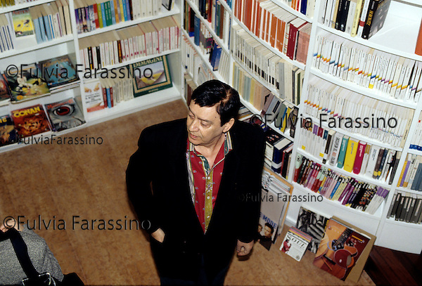 Palermo, 1995, Libreria Sellerio, Carmelo Bene.