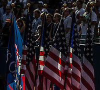 AMBIENCE<br /> The US Open Tennis Championships 2014 - USTA Billie Jean King National Tennis Centre -  Flushing - New York - USA -   ATP - ITF -WTA  2014  - Grand Slam - USA  <br /> 7th September 2014. <br /> <br /> &copy; AMN IMAGES
