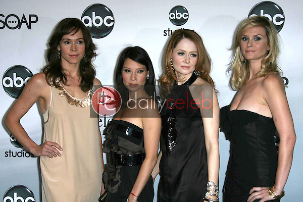 Frances O'Connor and Lucy Liu with Miranda Otto and Bonnie Somerville<br />at the 2007 ABC All Star Party. Beverly Hilton Hotel, Beverly Hills, CA. 07-26-07<br />Dave Edwards/DailyCeleb.com 818-249-4998