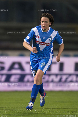 Daniela Sabatino (Brescia), MARCH 30, 2016 - Football / Soccer : UEFA Women's Champions League Quarter-final 2nd leg match between ACF Brescia 0-3 VfL Wolfsburg at Stadio Mario Rigamonti in Brescia, Italy. (Photo by Maurizio Borsari/AFLO)