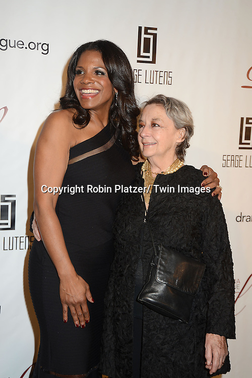 Audra McDonald and Zoe Caldwell  attends the 29th Annual Drama League Gala Musical Celebration of Broadway honoring Audra McDonald on February 11, 2013 at the Pierre Hotel in New York City.