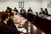 BRASILIA, DF – 07.06.2016 – MINISTROS–OLIMPÍADAS – O ministro chefe da Casa Civil, Eliseu Padilha durante reunião com Ministros sobre as Olimpíadas Rio 2016 no Palácio do Planalto, na manhã desta terça-feira, 07.  (Foto: Ricardo Botelho/Brazil Photo Press)