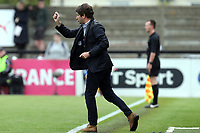 Arsenal Women manager Joe Montemurro during Arsenal Women vs Manchester City Women, FA Women's Super League FA WSL1 Football at Meadow Park on 12th May 2018