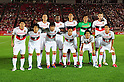 Nagoya Grampus team group line-up, SEPTEMBER 18, 2011 - Football / Soccer : Nagoya Grampus team group shot (Top row - L to R) Marcus Tulio Tanaka, Danilson, Takahiro Masukawa, Seigo Narazaki, Joshua Kennedy, (Bottom row - L to R) Keiji Tamada, Jungo Fujimoto, Igor Burzanovic, Shohei Abe, Yoshizumi Ogawa and Hayuma Tanaka before the 2011 J.League Division 1 match between Kashima Antlers 1-1 Nagoya Grampus Eight at Kashima Soccer Stadium in Ibaraki, Japan. (Photo by AFLO)