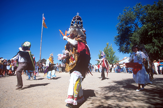 Dance of Los Matachines, El Rancho de las Golondrinas, New Mexico