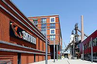 Shopping-Center Belval Plaza in ehemaligem Stahlwerk bei Esch-sur-Alzette, Luxemburg