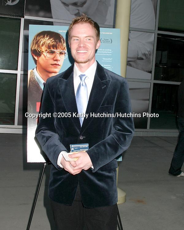"Scott Heim.""Mysterious Skin"" Premiere.Los Angeles, CA.May 24, 2005.©2005 Kathy Hutchins / Hutchins Photo"