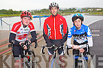 Cycling in the Heros week cycle from the Tralee Wetlands to Dingle on Sunday were From Left: Jason Teehan, Graham Flynn and Tadgh Flynn, all from Tralee.