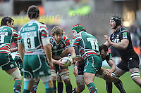 Liberty stadium, Swansea, Wales. Sunday 13th January 2013. Ospreys v Leicester Tigers Heineken Cup pool 2 rugby. Mandatory credit to Jeff Thomas Photography-www.jaypics.photoshelter.com-07837 386244