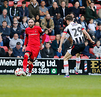 Leyton Orient's Nicky Hunt on the ball during the Sky Bet League 2 match between Leyton Orient and Grimsby Town at the Matchroom Stadium, London, England on 11 March 2017. Photo by Carlton Myrie / PRiME Media Images.