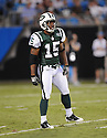 LARRY TAYLOR, of the New York Jets in action during the Jets game against the Carolina Panthers  at Bank of America Stadium in Charlotte, N.C.  on August 21, 2010.  The Jets beat the Panthters 9-3 in the second week of preseason games...
