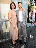 HOLLYWOOD, CA - MARCH 25: Shane West and Mandy Moore at the Mandy Moore star ceremony on the Hollywood Walk of Fame on March 25, 2019 in Hollywood, California. (Photo by Frank Micelotta/20th Century Fox Television/PictureGroup)