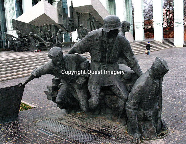 The Warsaw Uprising was a major World War II operation by the Polish resistance Home Army  to liberate Warsaw from Nazi Germany. The Uprising was timed to coincide with the Soviet Union's Red Army approaching the eastern suburbs of the city and the retreat of German forces. However, the Soviet advance stopped short, enabling the Germans to regroup and demolish the city while defeating the Polish resistance, which fought for 63 days with little outside support. <br />