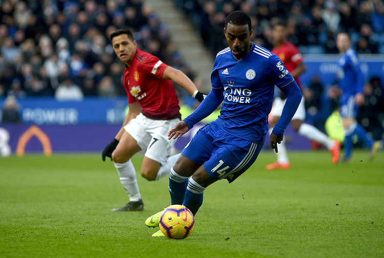 Leicester City's Ricardo Pereira<br /> <br /> Photographer Hannah Fountain/CameraSport<br /> <br /> The Premier League - Leicester City v Manchester United - Sunday 3rd February 2019 - King Power Stadium - Leicester<br /> <br /> World Copyright © 2019 CameraSport. All rights reserved. 43 Linden Ave. Countesthorpe. Leicester. England. LE8 5PG - Tel: +44 (0) 116 277 4147 - admin@camerasport.com - www.camerasport.com