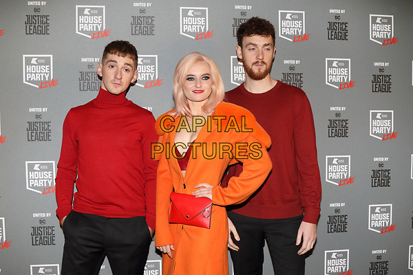 Clean Bandit at the KISS House Party at SSE Arena Wembley, London on Thursday 26 October 2017<br /> CAP/ROS<br /> &copy;ROS/Capital Pictures