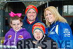Bad Bend<br /> -------------<br /> The O'Shea family of Kerry, Keith, Jonathon&amp;Emma from Castlemaine at the Finish ramp outside the GlenEagle hotel, Killarney.