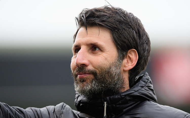 Lincoln City manager Danny Cowley<br /> <br /> Photographer Chris Vaughan/CameraSport<br /> <br /> The EFL Sky Bet League Two - Lincoln City v Grimsby Town - Saturday 19 January 2019 - Sincil Bank - Lincoln<br /> <br /> World Copyright &copy; 2019 CameraSport. All rights reserved. 43 Linden Ave. Countesthorpe. Leicester. England. LE8 5PG - Tel: +44 (0) 116 277 4147 - admin@camerasport.com - www.camerasport.com