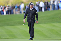 Phil Mickelson (USA) walks to the 5th green at Pebble Beach Golf Links during Saturday's Round 3 of the 2017 AT&amp;T Pebble Beach Pro-Am held over 3 courses, Pebble Beach, Spyglass Hill and Monterey Penninsula Country Club, Monterey, California, USA. 11th February 2017.<br /> Picture: Eoin Clarke | Golffile<br /> <br /> <br /> All photos usage must carry mandatory copyright credit (&copy; Golffile | Eoin Clarke)