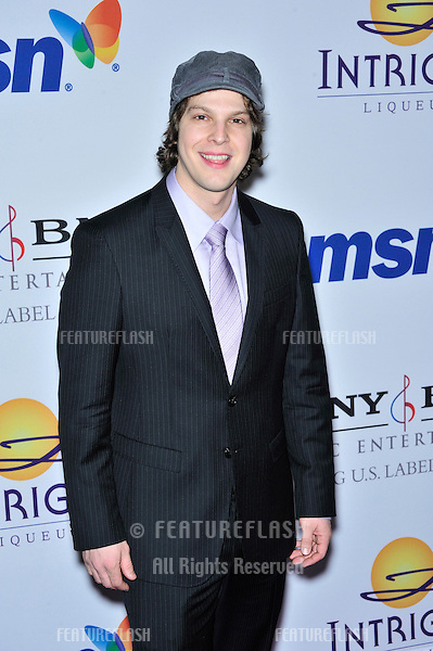 Gavin DeGraw at music mogul Clive Davis' annual pre-Grammy party at the Beverly Hilton Hotel..February 9, 2008  Los Angeles, CA.Picture: Paul Smith / Featureflash