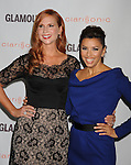 LOS ANGELES, CA - OCTOBER 24: Jan Livingston-Mokhtari and Eva Longoria attend the Glamour Reel Moments at DGA Theater on October 24, 2011 in Los Angeles, California.