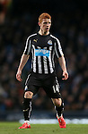 Jack Colback of Newcastle United - Barclays Premier League - Manchester City vs Newcastle Utd - Etihad Stadium - Manchester - England - 21st February 2015 - Picture Simon Bellis/Sportimage