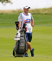 Daniel Brooks (ENG) caddy and bag on the 1st fairway during Round 1 of the D+D Real Czech Masters at the Albatross Golf Resort, Prague, Czech Rep. 31/08/2017<br /> Picture: Golffile | Thos Caffrey<br /> <br /> <br /> All photo usage must carry mandatory copyright credit     (&copy; Golffile | Thos Caffrey)