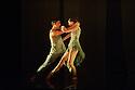 "London, UK. 12.04.2016. English National Ballet presents the World Premiere of the triple bill, ""She Said""; work made by female choreographers, Annabelle Lopez Ochoa, Yabin Wang and Aszure Barton. This piece is: ""M-Dao"", by Yabin Wang. Dancers are: Laurretta Summerscales (Medea), Fernando Bufala (Jason), Madison Keesler (Princess). Photograph © Jane Hobson."