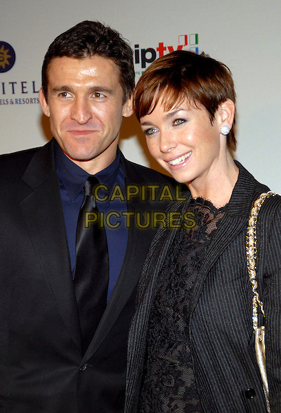 JONATHAN CAKE & JULIANNE NICHOLSON.34th International Emmy Awards Gala at the New York Hilton, New York, NY, USA..November 20th, 2006.headshot portrait silver earrings.CAP/ADM/PH.©Paul Hawthorne/AdMedia/Capital Pictures *** Local Caption ***