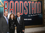 Richard Oberacker, Bernadette Peters and Robert Taylor attend the Broadway Opening Night performance of 'Bandstand' at the Bernard B. Jacobs Theatre on 4/26/2017 in New York City.