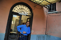Gente del 30.People of 30.Portiere.Porter..William Edgar Santillan Trigoso,peruviano,48 anni.In Italia dal 1992 ed oggi cittadino italiano.William Edgar Santillan Trigoso, Peru, 48 years old.In Italy since 1992 and now is Italian citizen....
